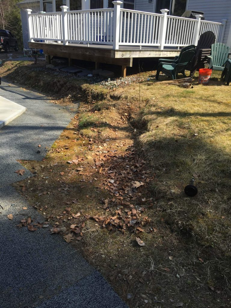 Hardscape Retaining Wall Bedford NH