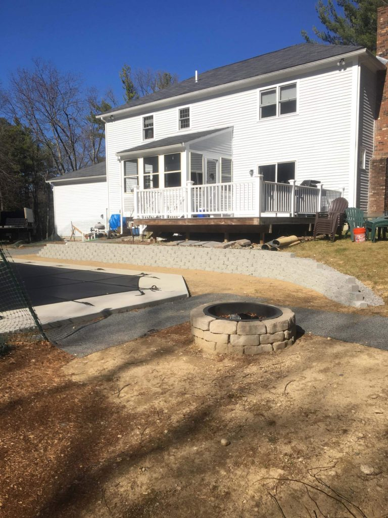 Build A Retaining Wall Bedford NH