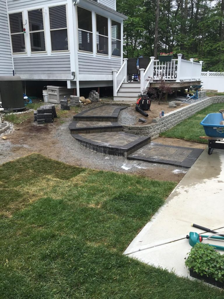 Sod and Patio Bedford, NH Picture 13