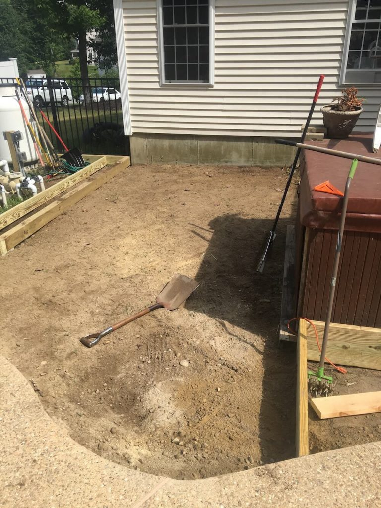 Preparation for loam and sod