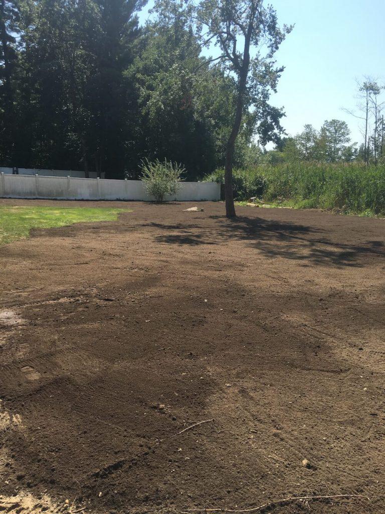 Lawn grading, Merrimack NH