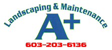 A Plus Landscaping Logo